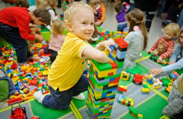 LEGO, школа, перший клас