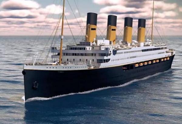 Титанік, корабель