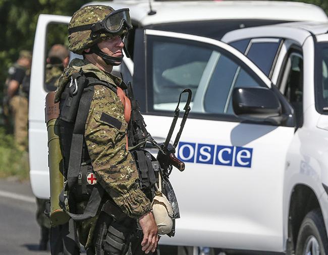 Представники ОБСЄ приїжджають  до окупованого Луганська по модні прикиди